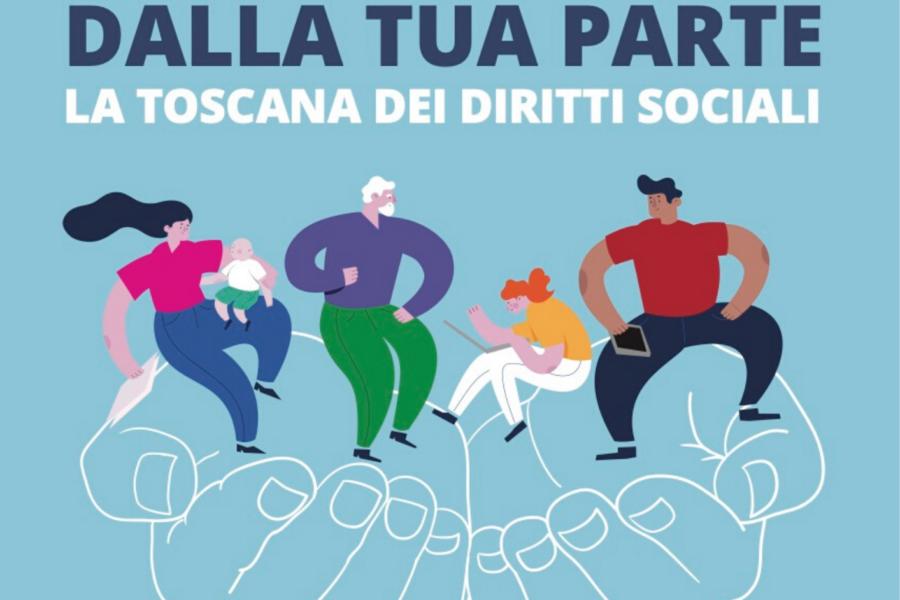 Dalla tua parte: la Toscana dei diritti – 5 e 6 dicembre Firenze