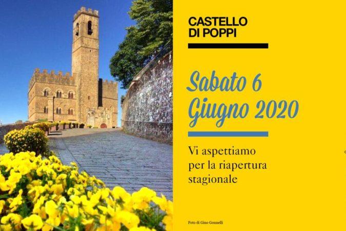 Riapre il Castello di Poppi con D'Appennino – Rete d'Imprese