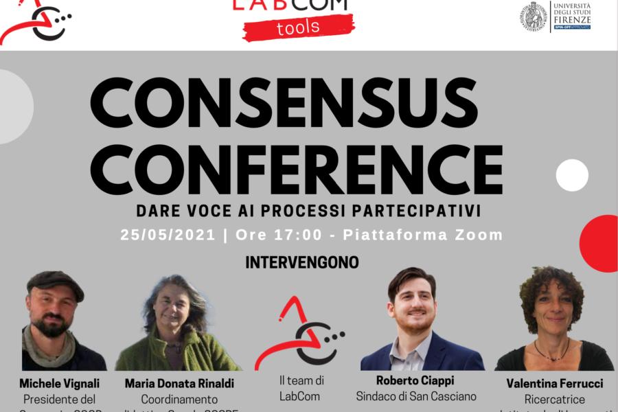 COOB racconta la sua esperienza con la Consensus Conference a LABCOM TOOLS