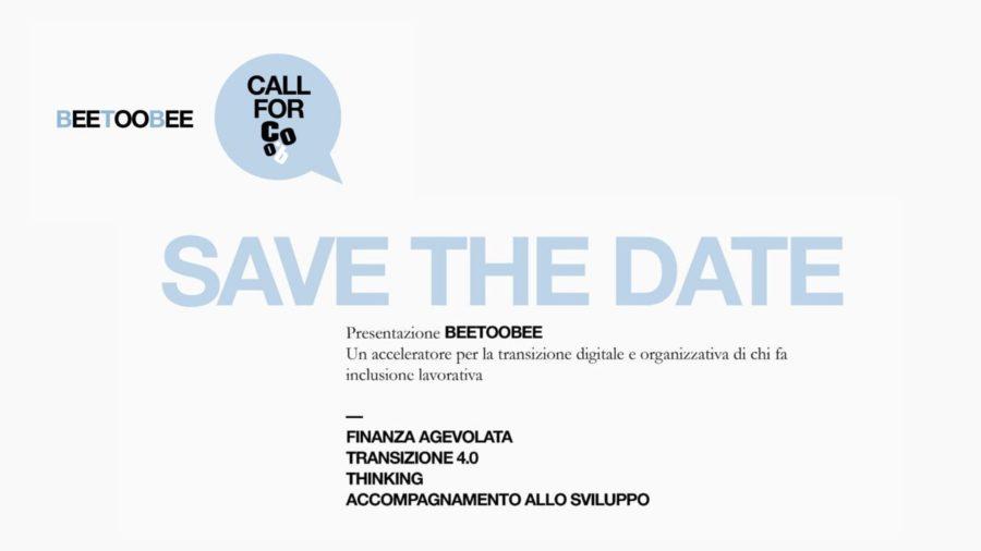 CALL COOB: Presentazione di BEETOOBEE acceleratore per la transizione digitale e organizzativa